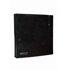 Ventilator de baie SILENT-100 CRZ MARBLE BLACK DESIGN-4C