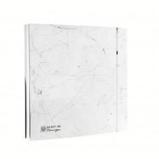 Ventilator de baie SILENT-100 CRZ MARBLE WHITE DESIGN-4C